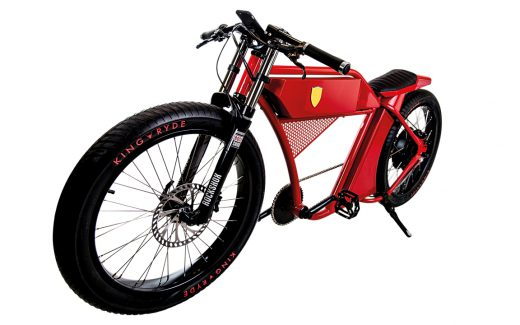 Kingryde eBike inspired by Ferrari